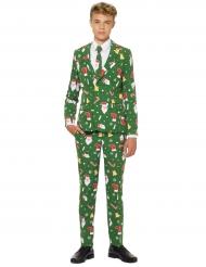 Mr. Santaboss Opposuits™ kerst kostuum voor tieners