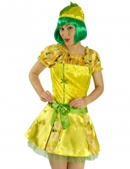 Citroen kostuum voor vrouwen
