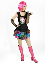 Punker kostuum voor vrouwen