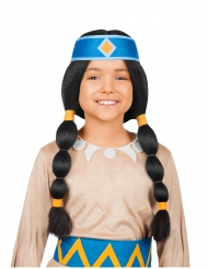 Yakari™ Arc-en-Ciel pruik voor kinderen