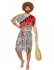Prehistorisch holbewoner kostuum voor mannen