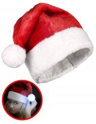 Kerstmuts met lichtgevende pompon