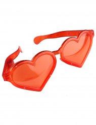 Grote lichtgevende harten bril voor volwassenen