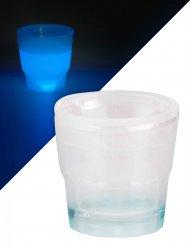 Lichtgevend blauw shotglas