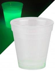 Groene lichtgevende beker