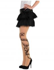 Slang tattoo panty voor vrouwen