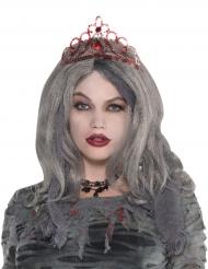 Rode tiara voor vrouwen
