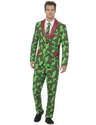 Kerst hulst kostuum voor volwassenen