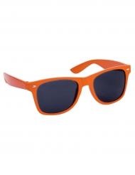 Oranje zonnebril voor volwassenen