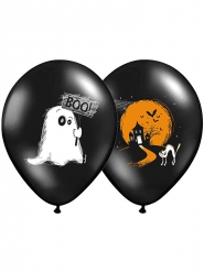 6 Boo Halloween ballonnen