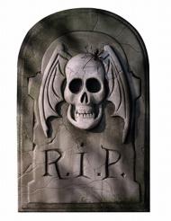 Kartonnen grafsteen decoratie
