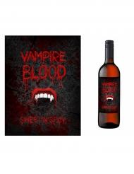 10 vampieren fles etiketten