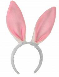 Roze konijn oren haarband voor kinderen