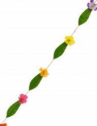 Veelkleurige Hawaii bloemenslinger