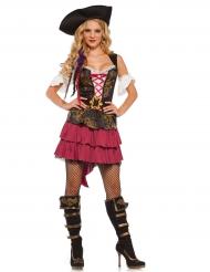 Sexy barok piraten kostuum voor vrouwen