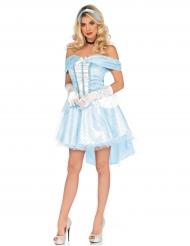 Lichtblauw sprookjes prinses kostuum voor vrouwen