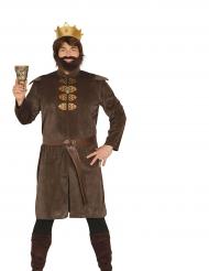 Middeleeuwse koning kostuum voor mannen