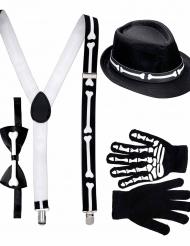 Gentleman skelet set voor volwassenen