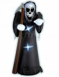 Opblaasbare Reaper decoratie met licht