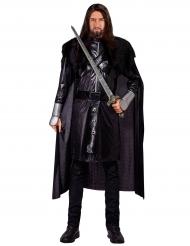 Duistere gothic ridder kostuum voor volwassenen