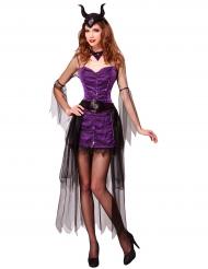 Donkere prinses kostuum voor vrouwen