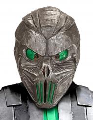 Groen galactisch cyborg masker voor volwassenen