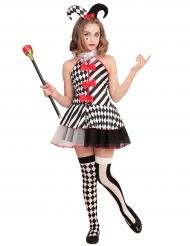 Schaakbord harlekijn kostuum voor meisjes