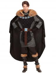 Duistere middeleeuwse prins kostuum voor mannen