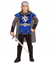 Blauw ridder koning kostuum voor kinderen