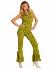 Retro groovy jaren 70 kostuum voor vrouwen