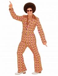 Jaren 70 groovy disco pak voor mannen