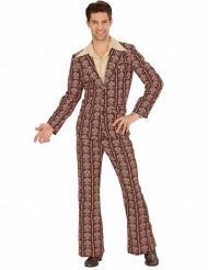 Jaren 70 old school kostuum voor mannen