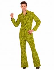Groovy jaren 70 retro kostuum voor mannen