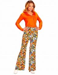 Groovy jaren 70 bubbel broek voor vrouwen