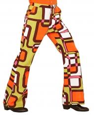 Groovy retro jaren 70 broek voor mannen