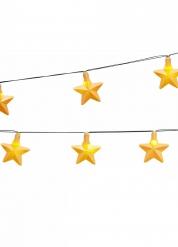 Lichtgevende sterren slinger