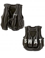 Opblaasbaar SWAT vest voor kinderen