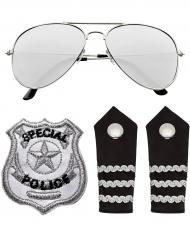 Politie accessoire set voor volwassenen