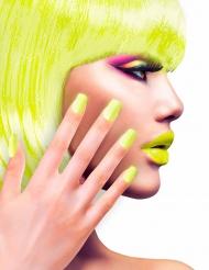 Neppe gele nagels voor volwassenen