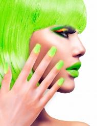 Zelfklevende nep nagels groen