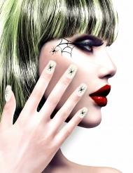 Zelfklevende nep nagels spin