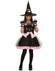 Katten heks kostuum voor meisjes