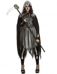 Gothic reaper kostuum voor vrouwen