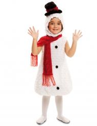 Sneeuwpop kostuum voor kinderen