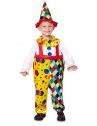 Kleurrijk clownskostuum voor kinderen