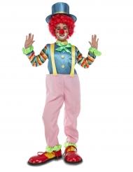 Roze clown kostuum voor kinderen