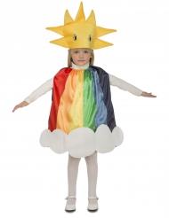 Regenboog kostuum voor kinderen