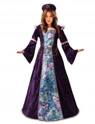 Elegante lavenderkleurige dame jurk voor vrouwen