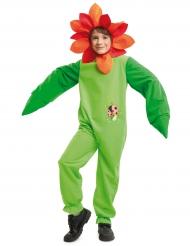 Lieveheersbeestje bloem kostuum voor kinderen
