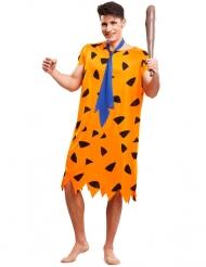 Oranje prehistorie kostuum voor mannen